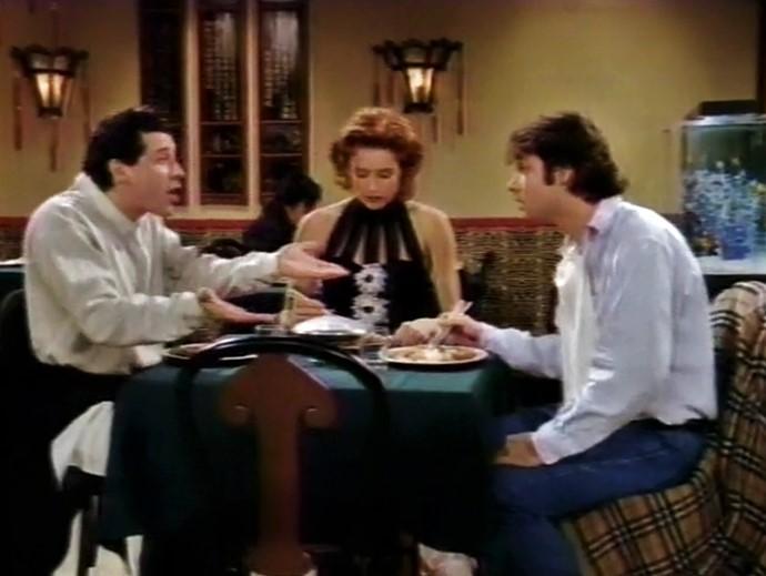 Téa Leoni, Adam Ferrara, and Corey Parker in Flying Blind (1992)