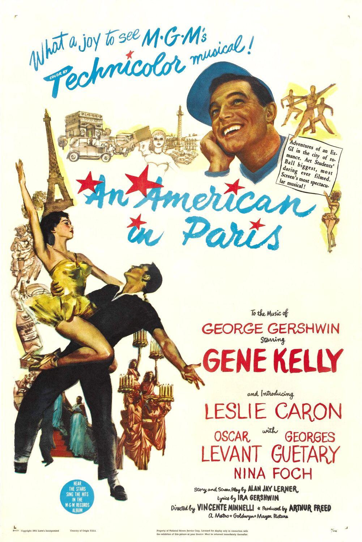 37e835a8db0 An American in Paris (1951) - IMDb