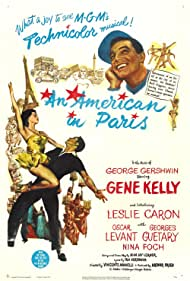 An American in Paris (1951) Poster - Movie Forum, Cast, Reviews