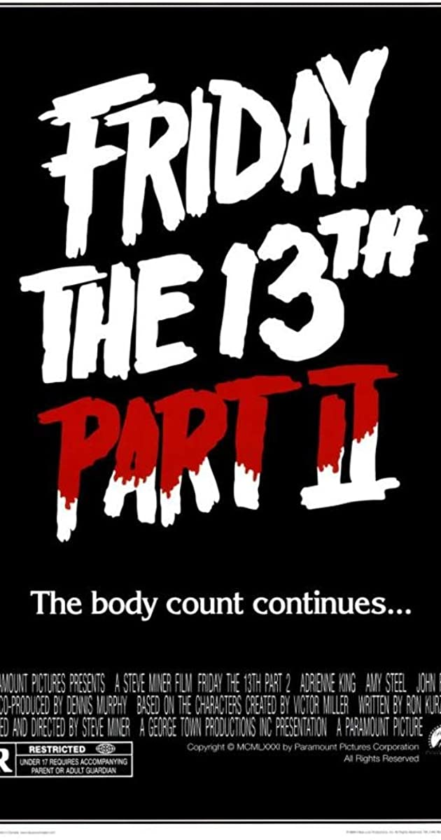 Subtitle of Friday the 13th Part 2