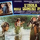 Barbara Bach, Joseph Cotten, and Claudio Cassinelli in L'isola degli uomini pesce (1979)