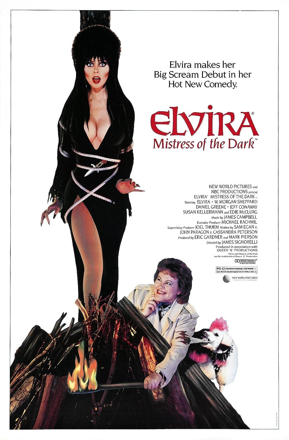 Elvira: Mistress of the Dark (1988) - IMDb