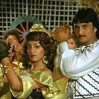 Swapna and Amrit Raj in Mera Muqaddar (1988)