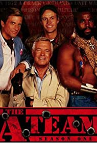 George Peppard, Mr. T, Dirk Benedict, and Dwight Schultz in The A-Team (1983)