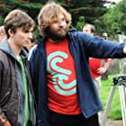 Still of Rollo Weeks and Bryan O'Neil on the set of Booked Out