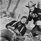 Joel McCrea and Forrest Tucker in Fort Massacre (1958)