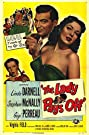 The Lady Pays Off (1951) Poster