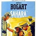 Humphrey Bogart, Richard Aherne, and Bruce Bennett in Sahara (1943)