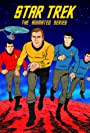 Leonard Nimoy, William Shatner, James Doohan, and DeForest Kelley in Star Trek (1973)