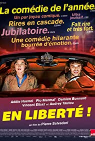 Adèle Haenel and Pio Marmaï in En liberté! (2018)