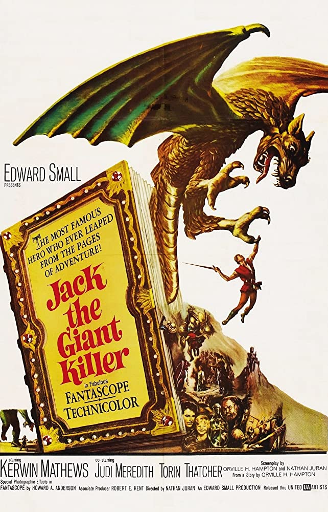 Kerwin Mathews, Judi Meredith, and Torin Thatcher in Jack the Giant Killer (1962)