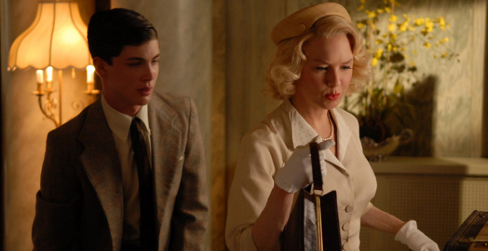 Renée Zellweger and Logan Lerman in My One and Only (2009)