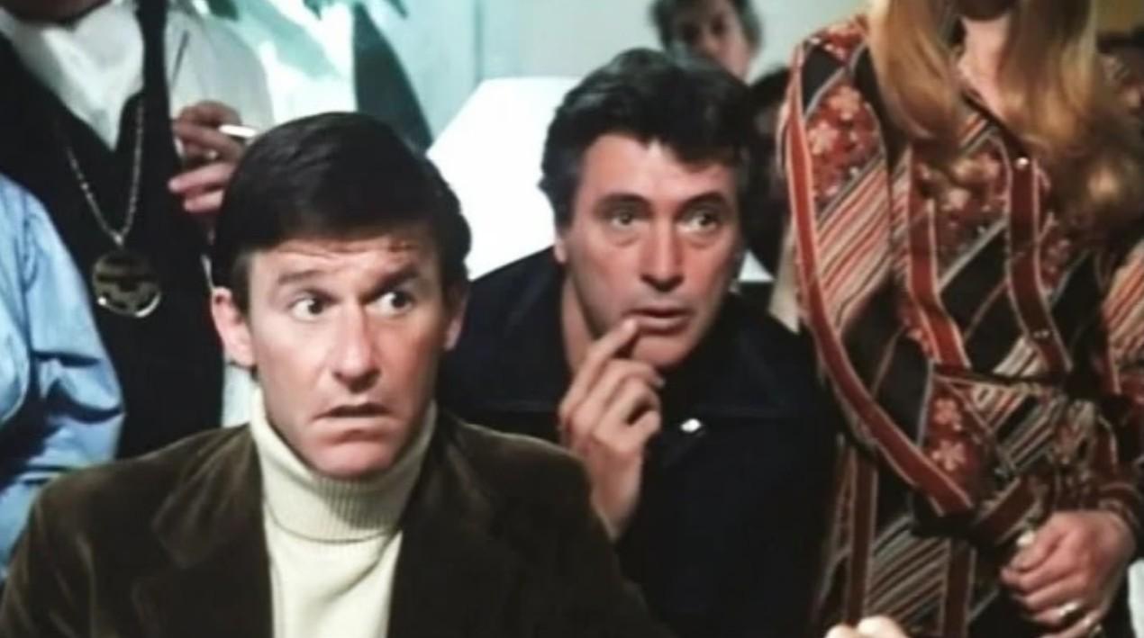 Rock Hudson e Roddy McDowall in Embryo (1976)