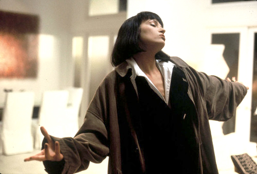 Uma Thurman in Pulp Fiction (1994)