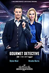Brooke Burns and Dylan Neal in The Gourmet Detective (2015)