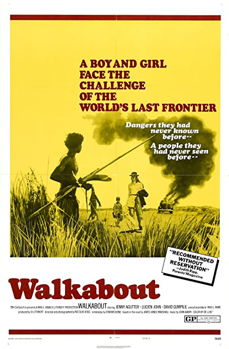 Walkabout (1971) English  Blu-Ray - 480P | 720P - x264 - 300MB | 800MB - Download & Watch Online  Movie Poster - mlsbd