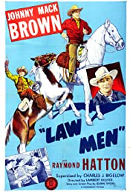 Johnny Mack Brown and Raymond Hatton in Law Men (1944)