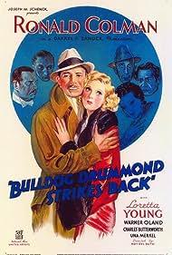 Charles Butterworth, Ronald Colman, Arthur Hohl, Una Merkel, Warner Oland, C. Aubrey Smith, and Loretta Young in Bulldog Drummond Strikes Back (1934)