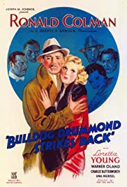 Bulldog Drummond Strikes Back (1934) Poster - Movie Forum, Cast, Reviews
