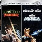 Cary Elwes, Mel Brooks, John Candy, and Rick Moranis in Spaceballs (1987)