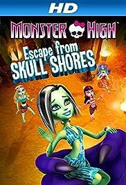 Monster High: Escape from Skull Shores Poster