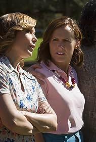 Judah Friedlander, Nina Hellman, and Molly Shannon in Wet Hot American Summer: First Day of Camp (2015)