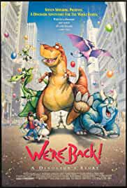 Watch Movie We're Back! A Dinosaur's Story (1993)
