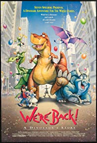 Primary photo for We're Back! A Dinosaur's Story