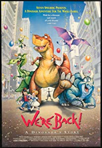 Full free 3gp movie downloads We're Back! A Dinosaur's Story Bill Kroyer [1280x720p]