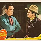 Gene Autry and William Haade in Heart of the Rio Grande (1942)