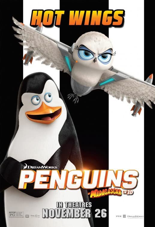 Penguins of Madagascar (2014) Hindi Dubbed