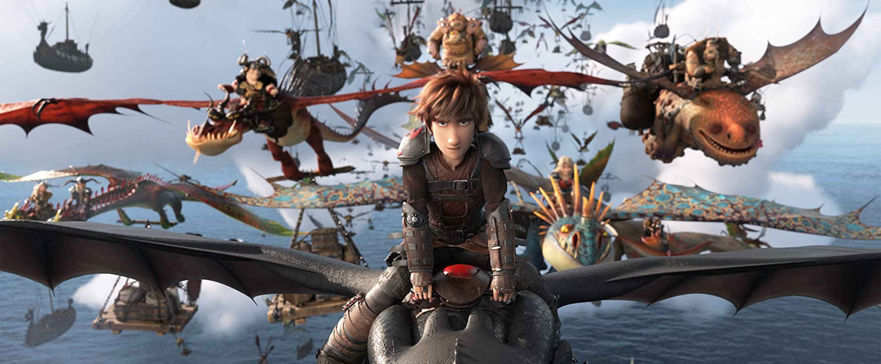 Cate Blanchett, Jay Baruchel, Craig Ferguson, America Ferrera, Kristen Wiig, Jonah Hill, Christopher Mintz-Plasse, Kit Harington, and Justin Rupple in How to Train Your Dragon: The Hidden World (2019)