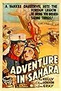 Adventure in Sahara (1938) Poster