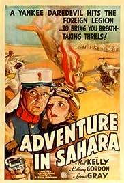 Adventure in Sahara Poster