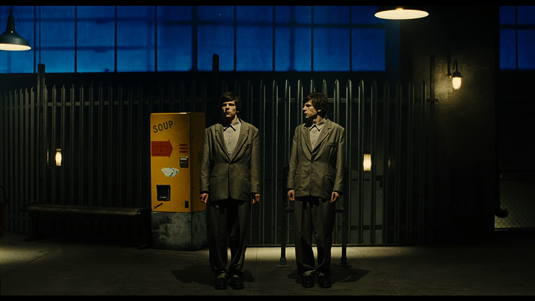 Jesse Eisenberg in The Double (2013)