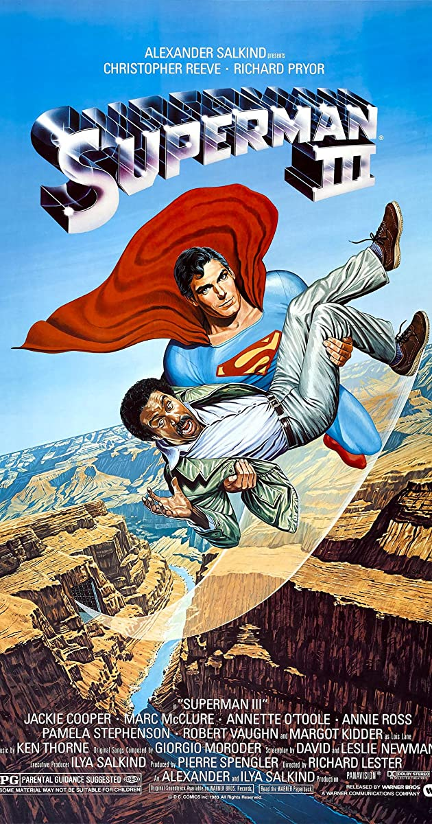 Superman III Turkish Subtitles