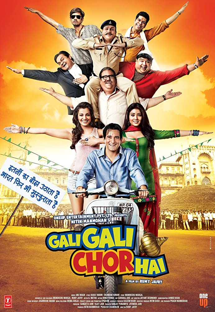 Gali Gali Chor Hai 2012 Hindi Movie 350MB BluRay ESubs Download
