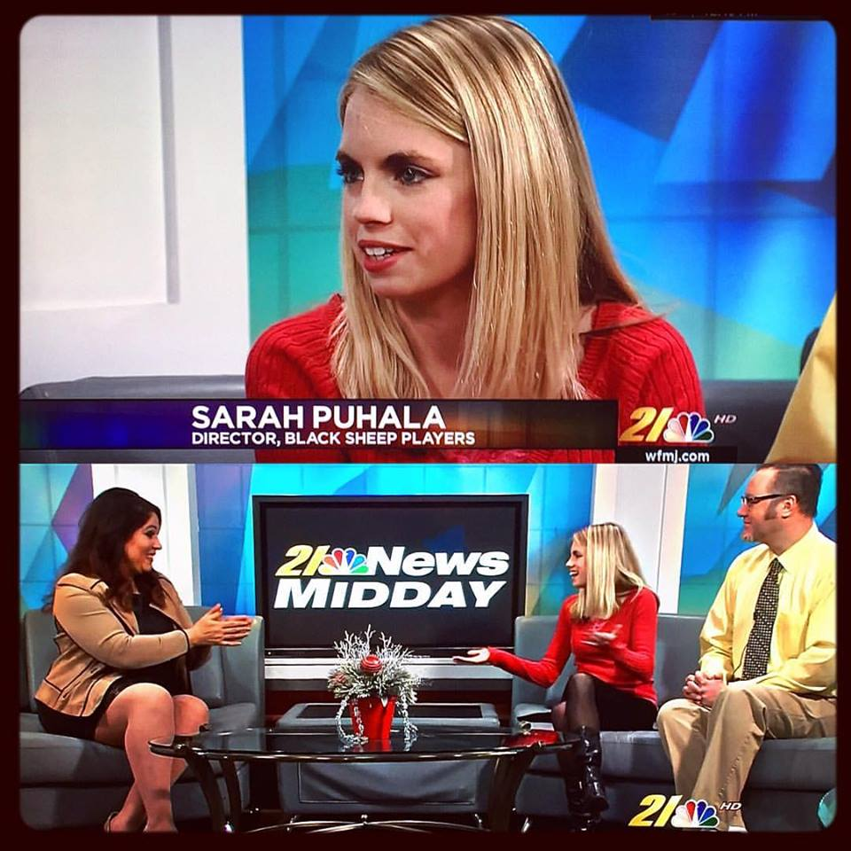 "Sarah Puhala ""21 News Midday"" Interview NBC"
