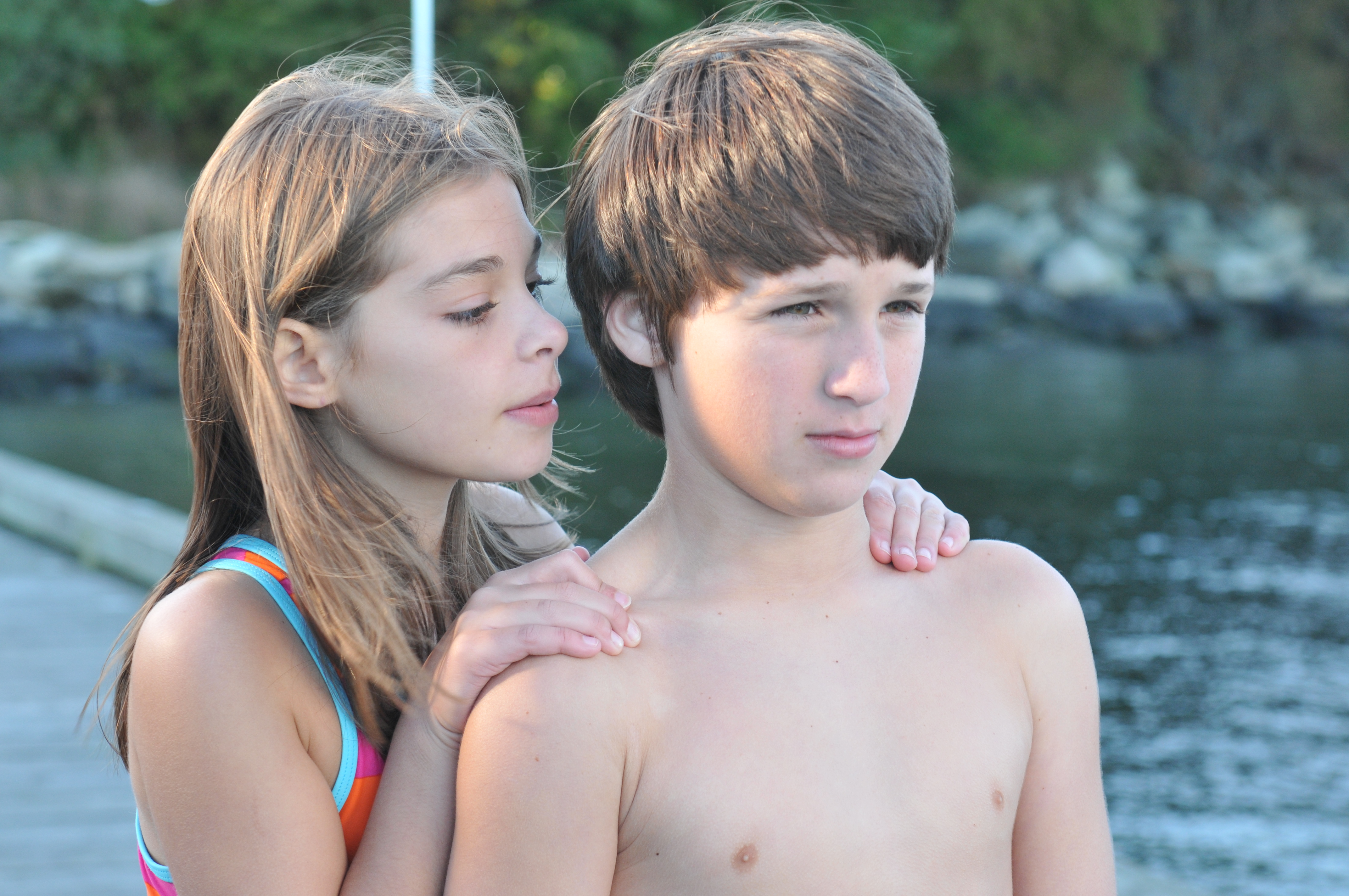 Nikki Hovan and Richard Meehan in Missing William (2014)