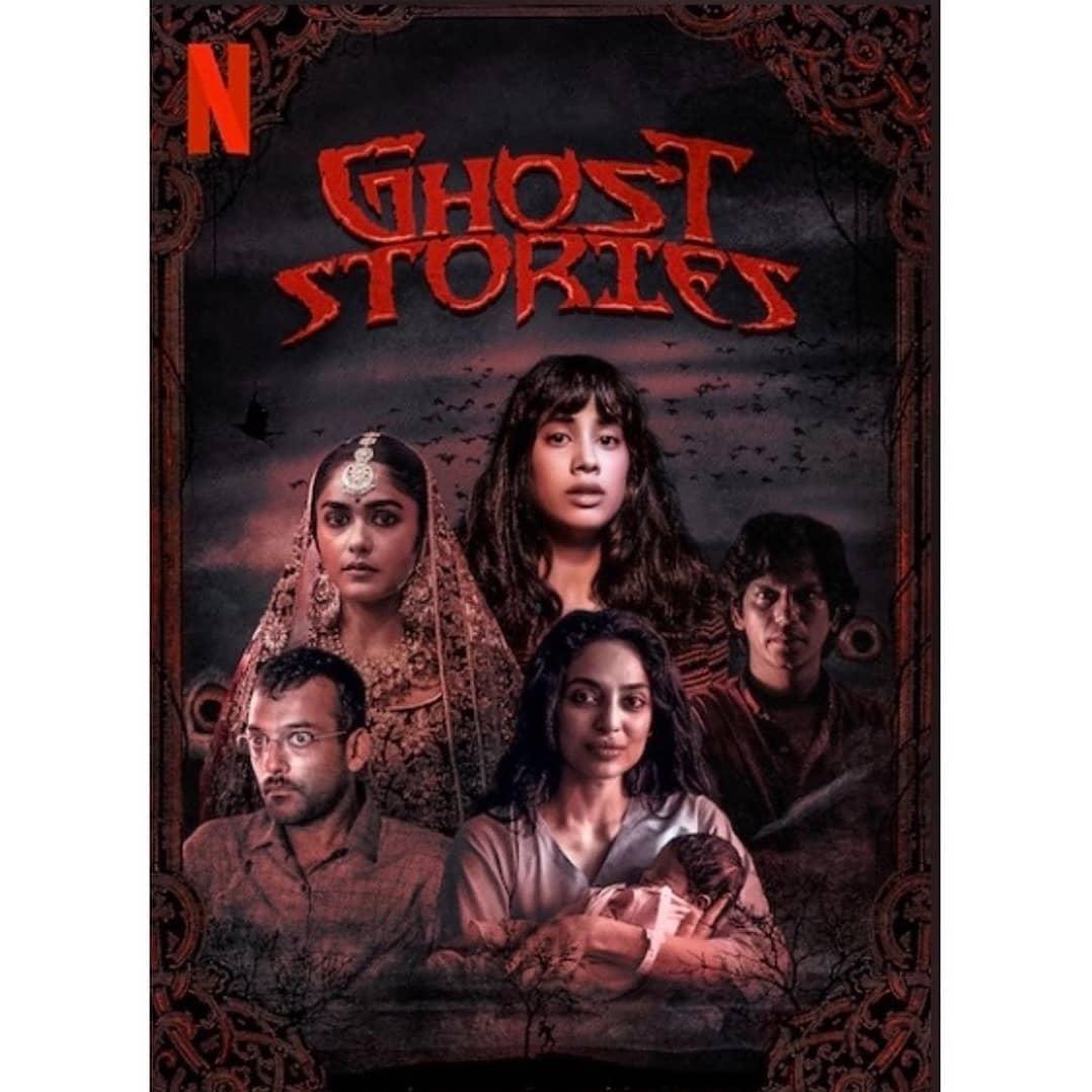 Vijay Varma, Sukant Goel, Mrunal Thakur, Sobhita Dhulipala, and Janhvi Kapoor in Ghost Stories (2020)