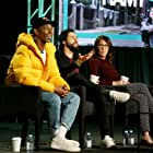 Bridget Bedard, Ramy Youssef, and Jerrod Carmichael at an event for Ramy (2019)
