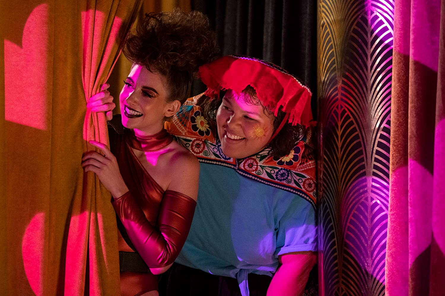 Alison Brie and Britney Young in GLOW (2017)