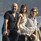 Javier Cámara, David Trueba, and Natalia de Molina at an event for Vivir es fácil con los ojos cerrados (2013)
