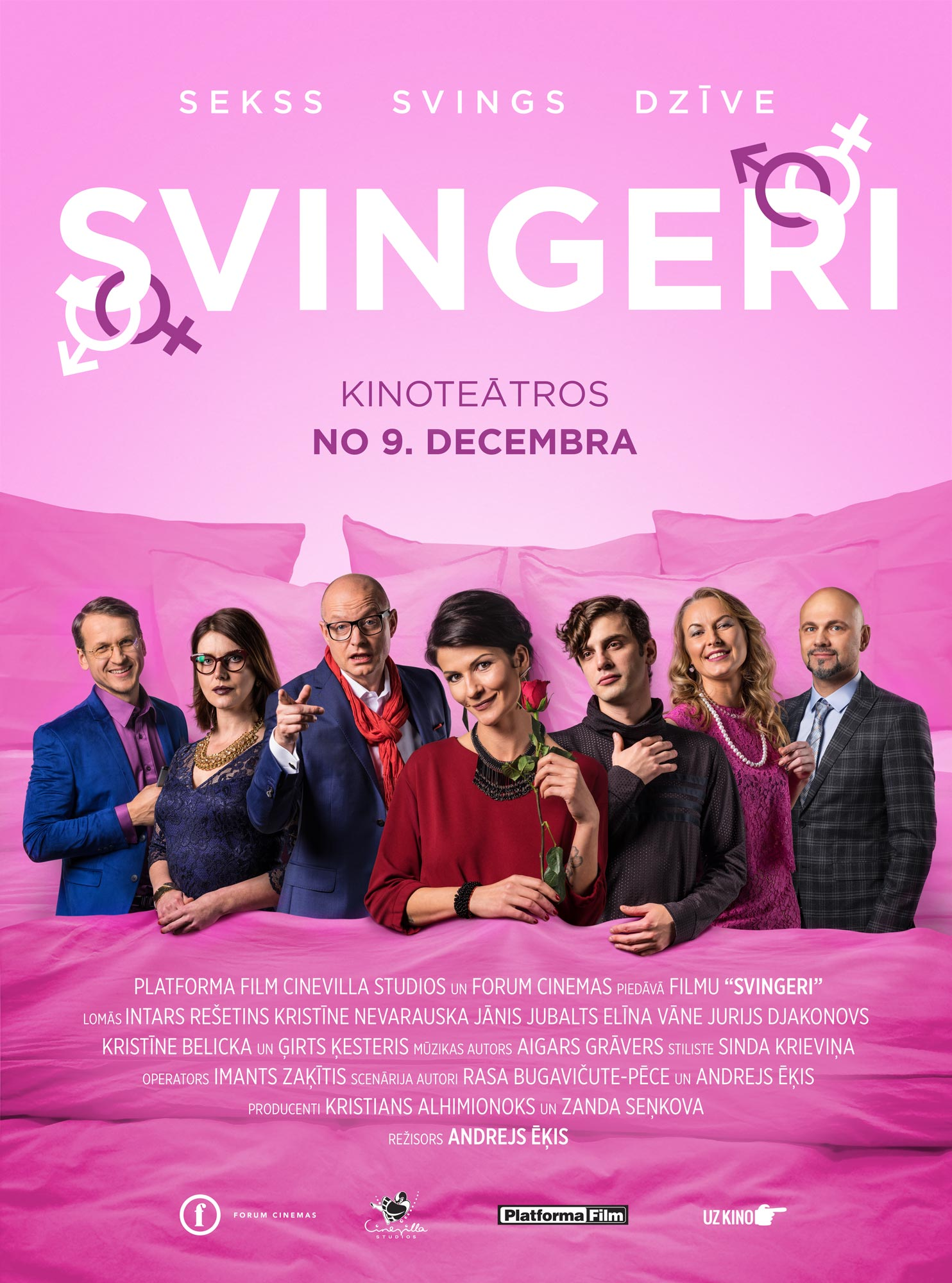 Movie of real swingers