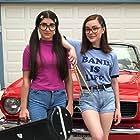 Claire Tablizo and Jaeden Riley Juarez in Teenage Girl: First Wheels (2020)