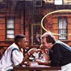 Spike Lee and Danny Aiello in Do the Right Thing (1989)