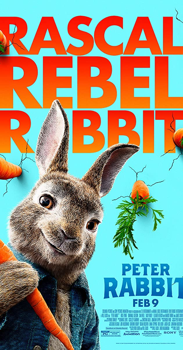 884cba6c8c4cb Peter Rabbit (2018) - IMDb
