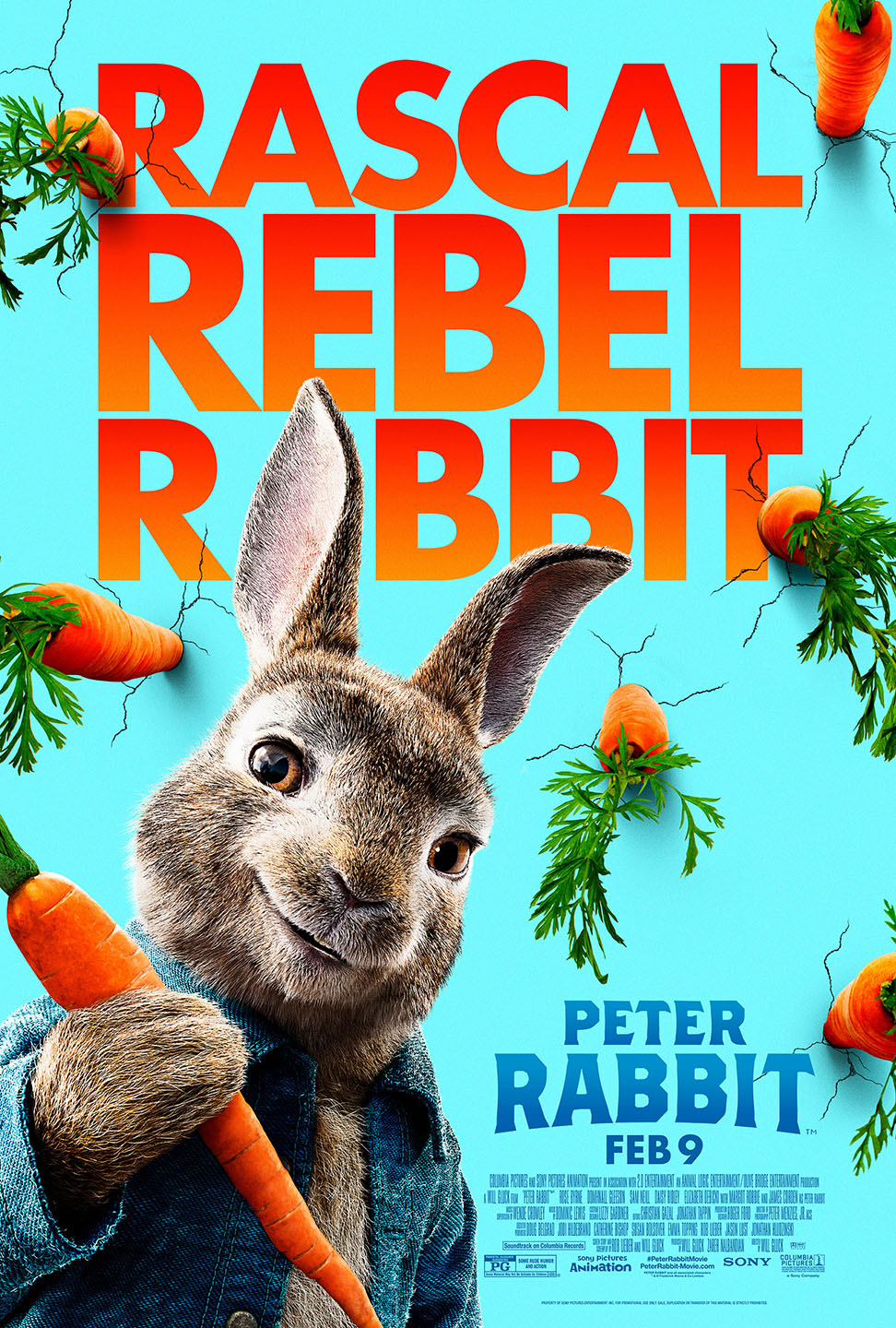 Peter Rabbit (2018) BluRay 480p, 720p & 1080p
