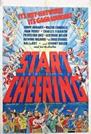 Start Cheering (1938) Poster - Movie Forum, Cast, Reviews
