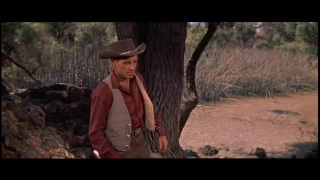 Guy Madison in The Beast of Hollow Mountain (1956)